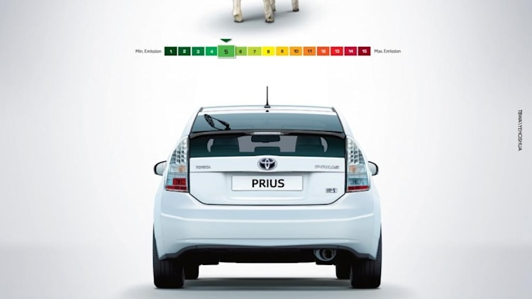 Toyota Prius Sheep Advertisement