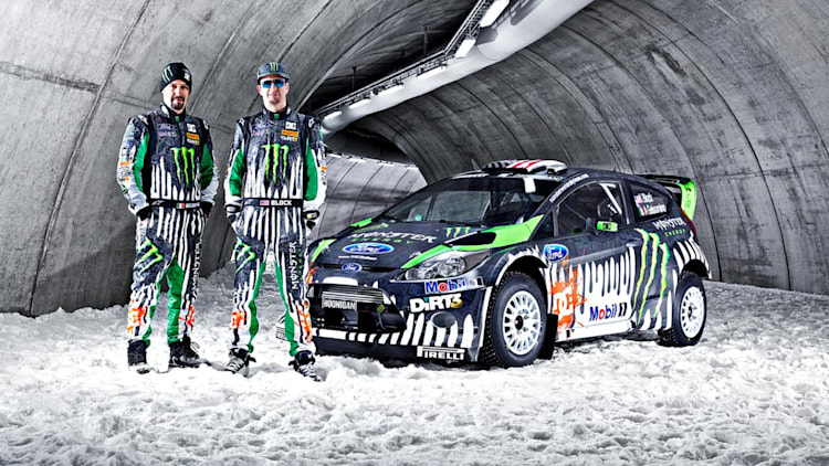 2011 Monster Energy Ford Fiesta RS WRC