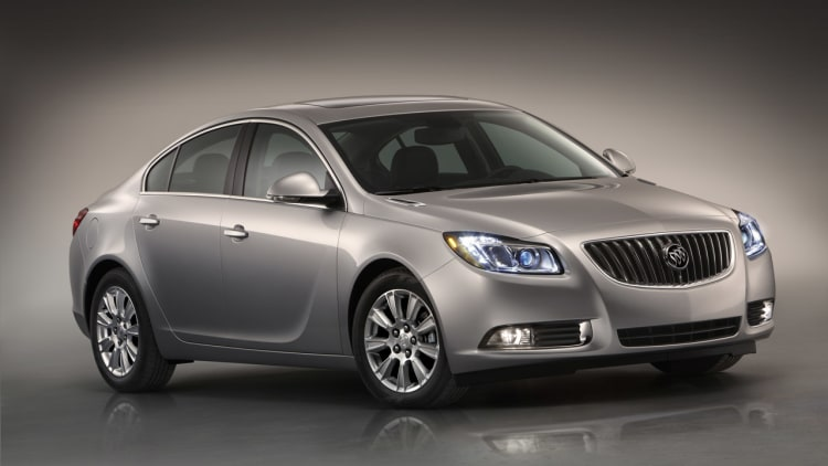 2012 Buick Regal eAssist