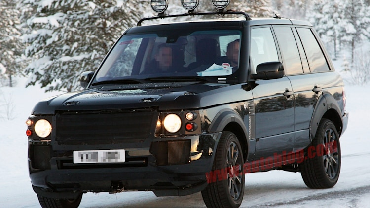 Spy Shots: Land Rover Range Rover