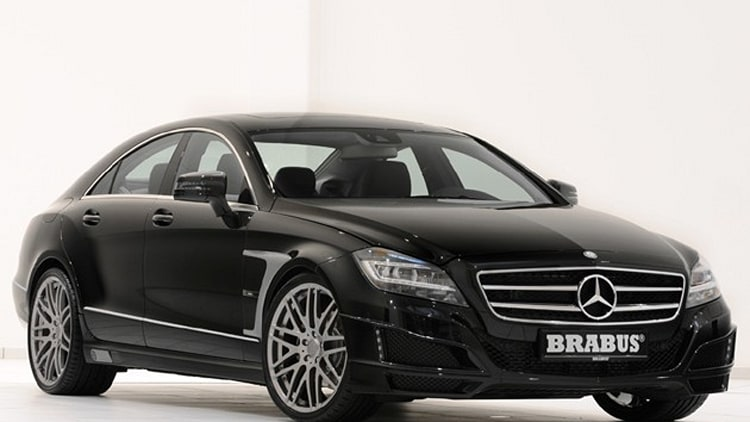2012 Brabus CLS front three quarter