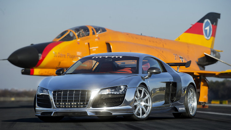 2011 MTM Audi R8 BiTurbo fron three quarter