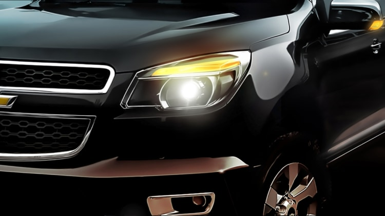 Chevrolet Colorado Teaser