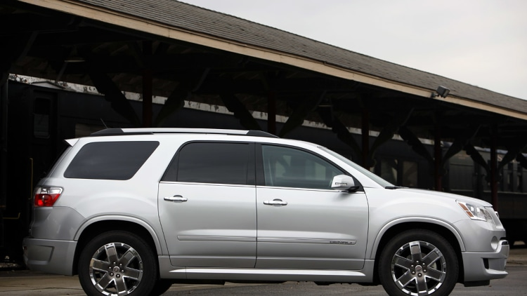 gm wipes out with recall of 50 000 chevy traverse gmc. Black Bedroom Furniture Sets. Home Design Ideas