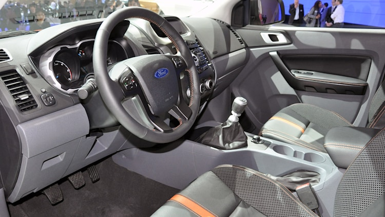 video 2012 ford ranger wildtrak promo makes us want one even more - Ford Ranger 2015 Interior