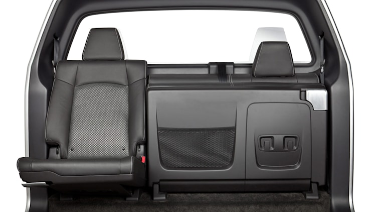 Johnson Controls super-slim stowable pickup seats