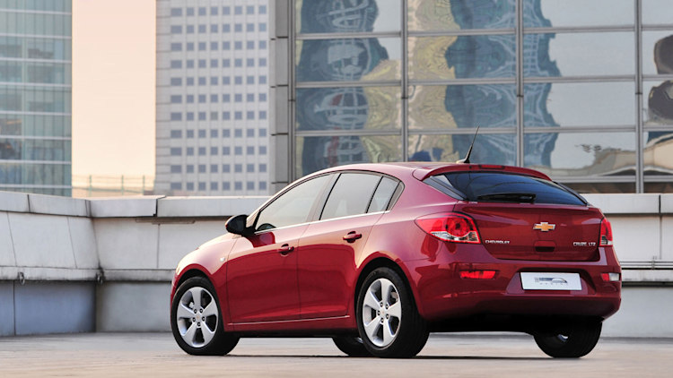 gm new car releasesGM mulling Chevy Cruze hatchback for US Buick Panamera among