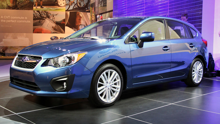 2012 Subaru Impreza Five-Door: New York 2011
