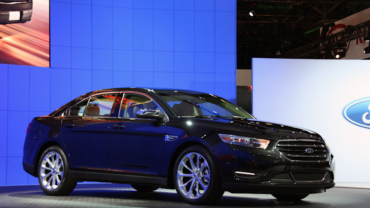 2013 Ford Taurus at 2011 New York Auto Show