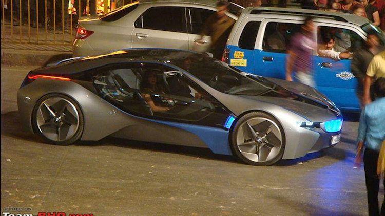 2011 BMW Vision EfficientDynamics Concept side