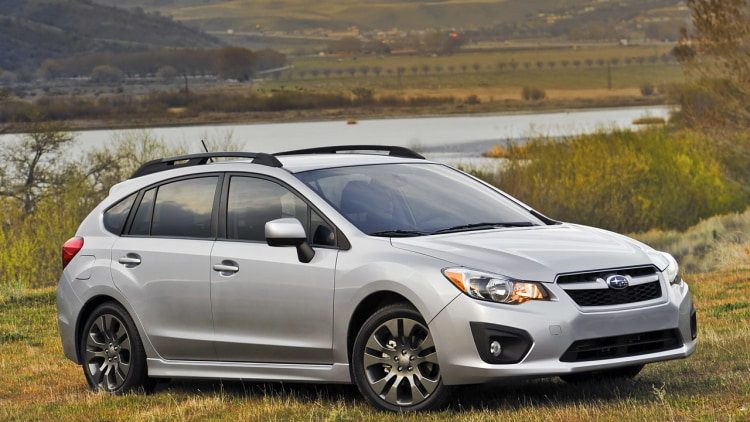 redesigned 2012 subaru impreza retains 17 495 starting. Black Bedroom Furniture Sets. Home Design Ideas