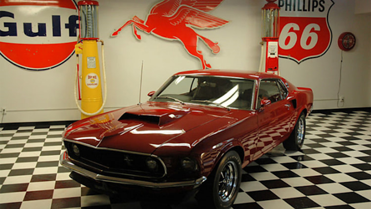 1969 Ford Mustang Boss 429 front three-quarter