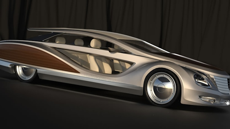 2012 Gray Design Strand Craft Limousine Beach Cruiser