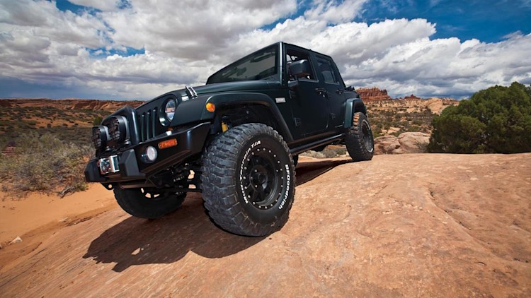 Xplore Jeep Wrangler heads to Moab