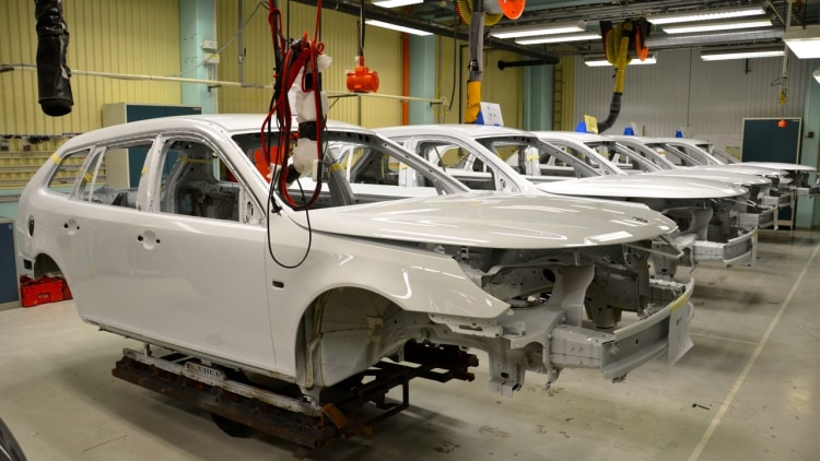 Saab 9-3 ePower Assembly Line