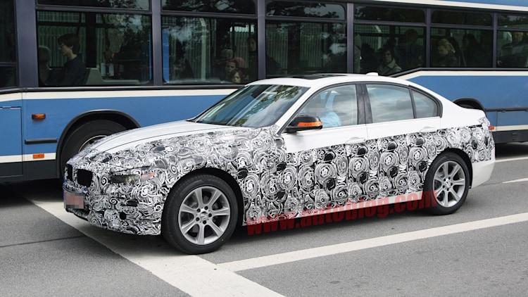 BMW 3 Series: Spy Shots