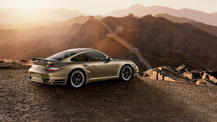 2011 Porsche 911 Turbo S China Edition