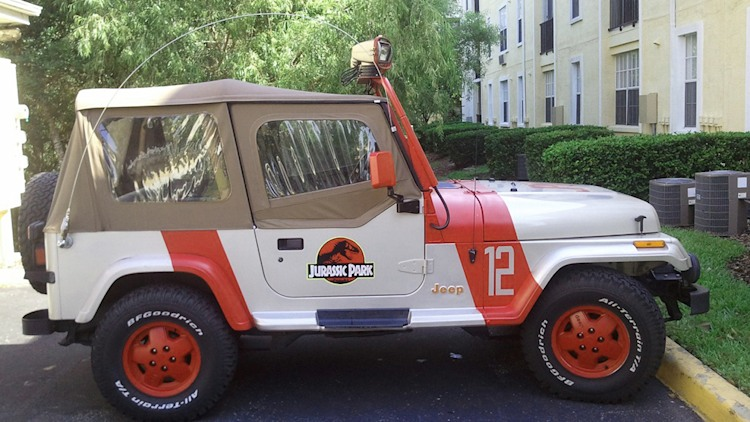 jeep wrangler sahara jurassic park 1995 jeep wrangler sahara jurassic. Cars Review. Best American Auto & Cars Review