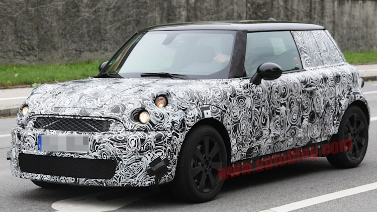 Next-Gen Mini Cooper: Spy Shots