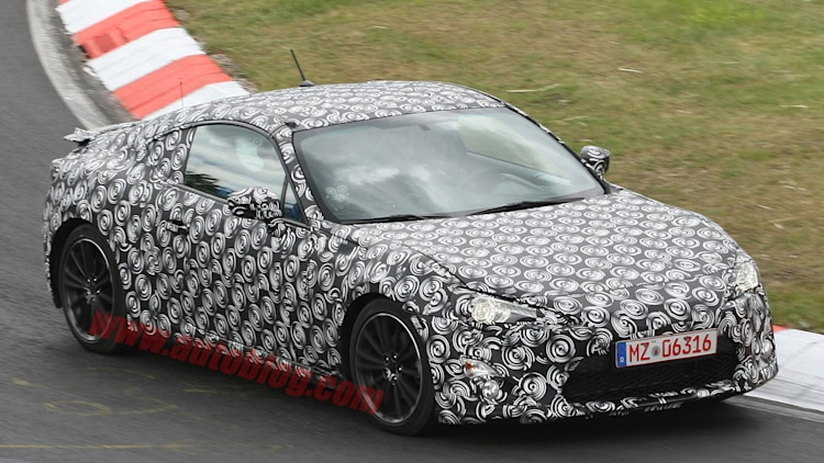 Subaru RWD Coupe: Spy Shots