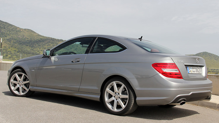Mercedes c and e class coupes to get awd option next year for 2012 mercedes benz c class coupe