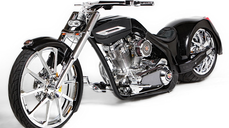 Paul Junior's Cadillac-inspired motorcycle