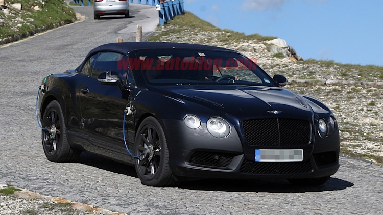 Spy Shots: Bentley Continental GTC Speed