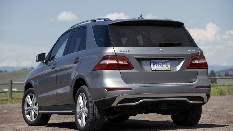 2012 mercedes benz ml350 bluetec 4matic