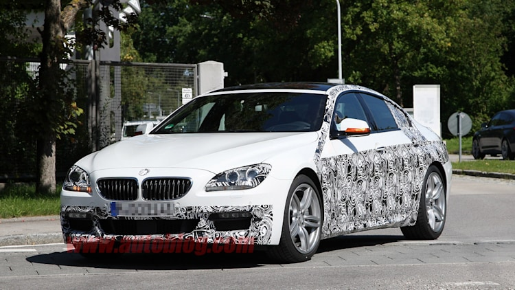 BMW 6 Series Gran Coupe M Sport: Spy Shots