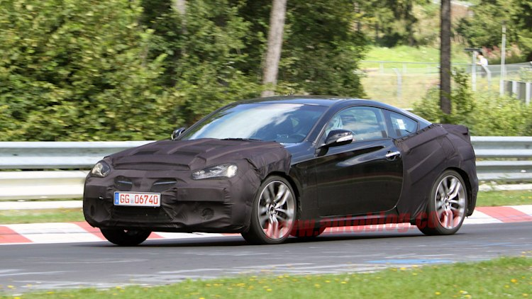 2013 Hyundai Genesis Coupe: Spy Shots