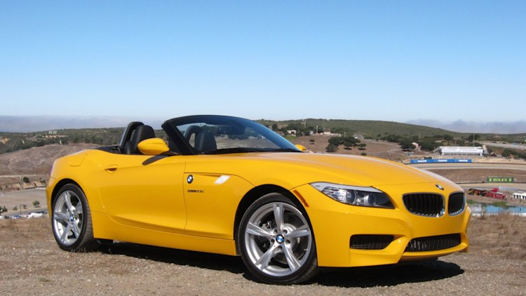 2012 BMW Z4 sDrive28i front 3/4 view