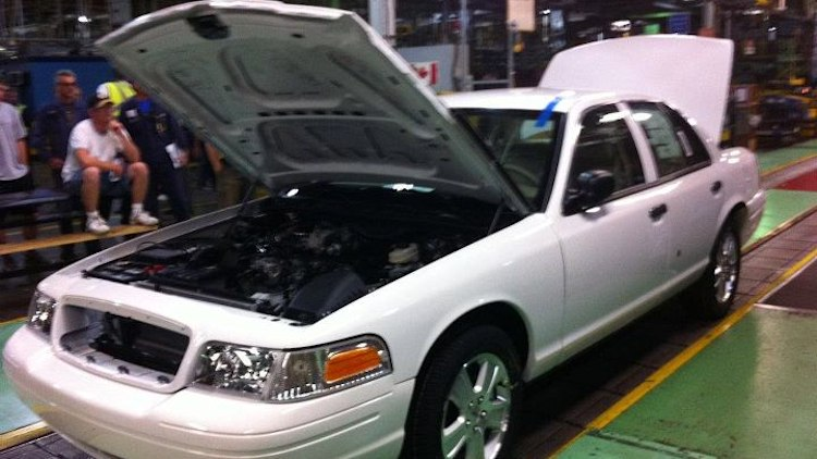 Last Ford Crown Victoria build documented by St. Thomas Assembly