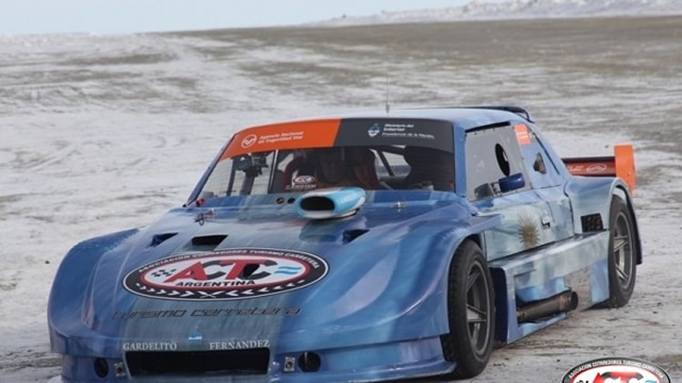 ACTC Stock Car Racing in Antarctica