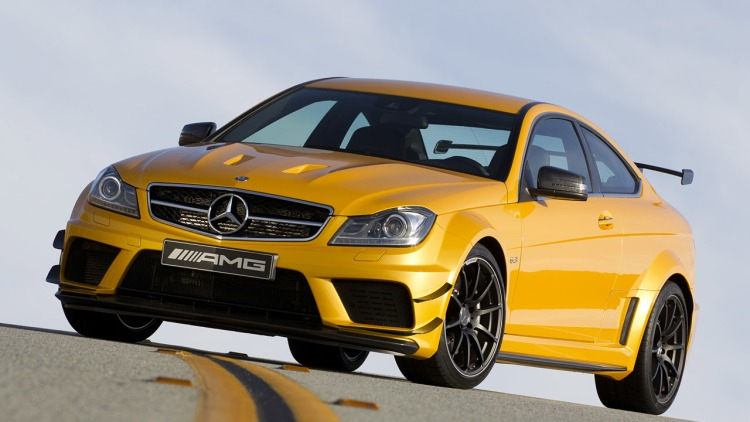 2012 Mercedes-Benz C63 AMG Coupe Black Series