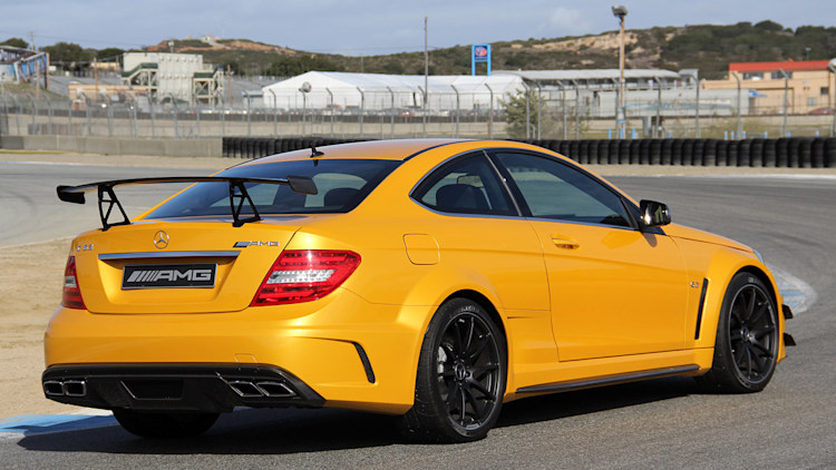 2012 MercedesBenz C63 AMG Coupe Black Series Review Photo