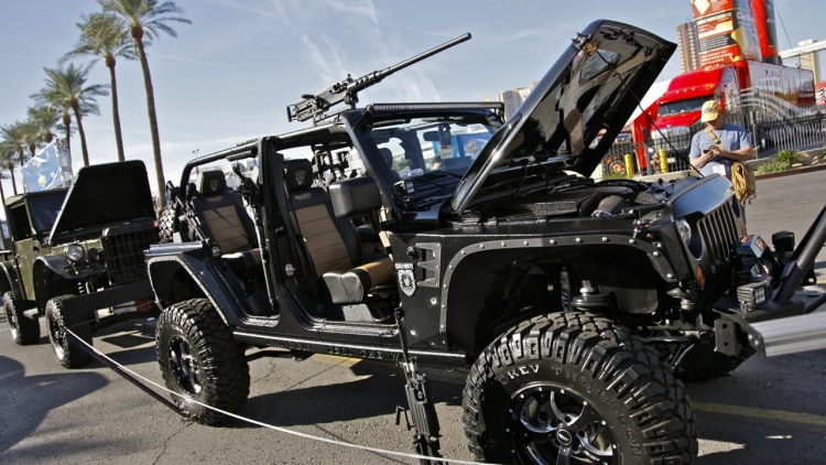 SEMA 2011: Call of Duty Wrangler replica