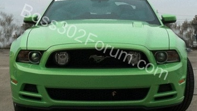 2013 Ford Mustang Boss 302 Gotta Have It Green