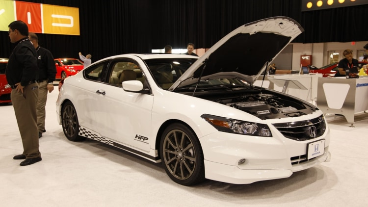 Honda Accord supercharged prototype