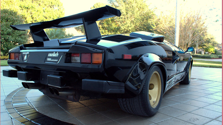 ebay find of the day 1987 lamborghini countach 5000 qv is. Black Bedroom Furniture Sets. Home Design Ideas
