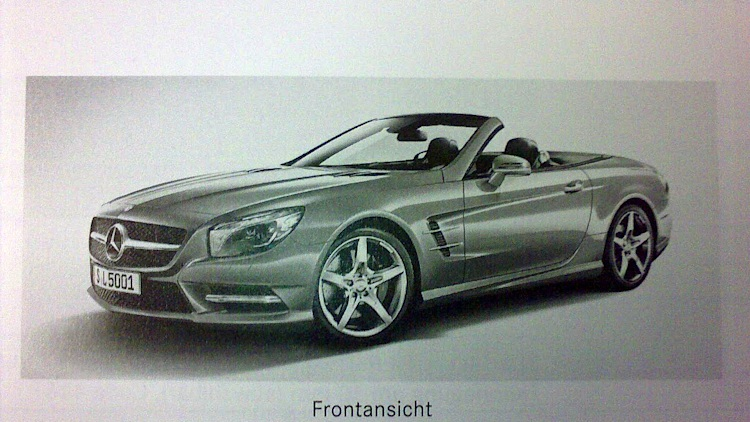 2013 Mercedes-Benz SL leaked images