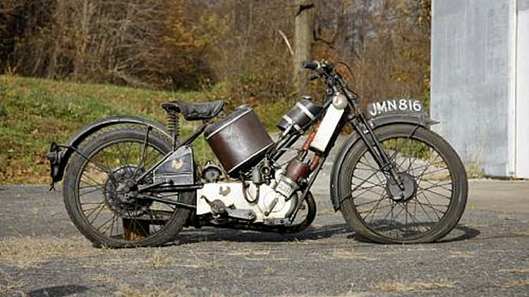 Bonhams Las Vegas Motorcycle Sale Sees Big Numbers For