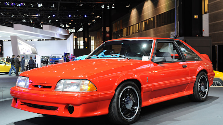 svt celebrates 20 years with the mustang that started it all autoblog. Black Bedroom Furniture Sets. Home Design Ideas