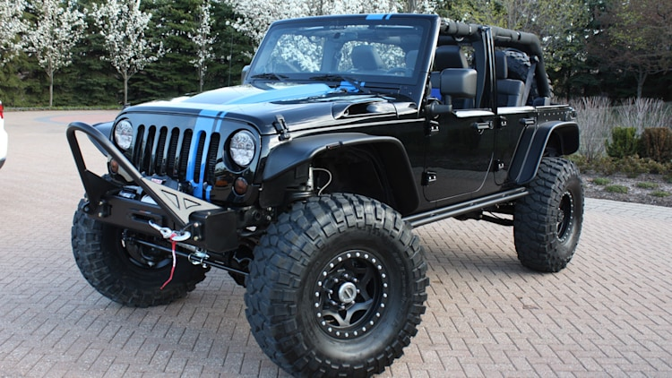 Certified Pre Owned Jeep Wrangler >> Jeep Wrangler Apache Concept Photo Gallery - Autoblog