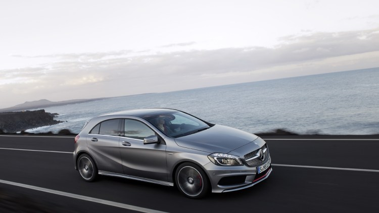 MercedesBenz CLA is official name of small fourdoor coupe