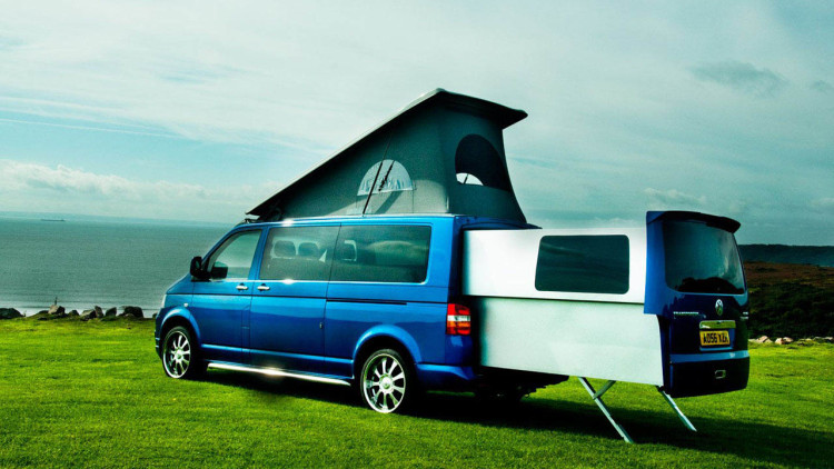 Doubleback volkswagen transporter conversion camper photo - Amenager un t2 ...