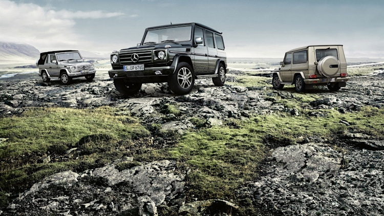 Mercedes introduces 2013 G-Class, including 612-HP G65 AMG - Autoblog