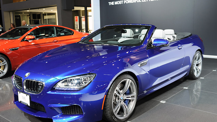 2012 Bmw M6 Convertible Makes Its World Debut Autoblog
