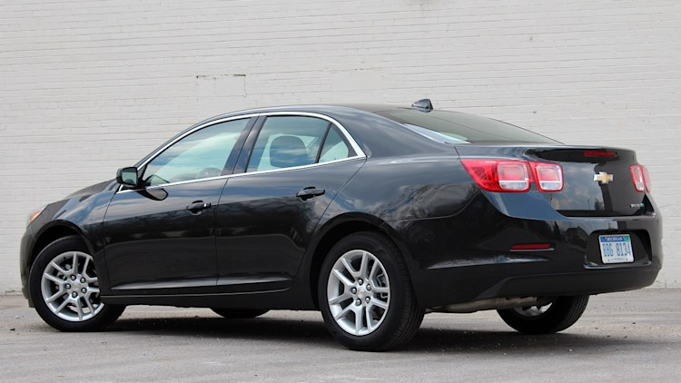 2013 chevrolet malibu eco 2013 chevrolet malibu eco rear 3 4 view. Cars Review. Best American Auto & Cars Review