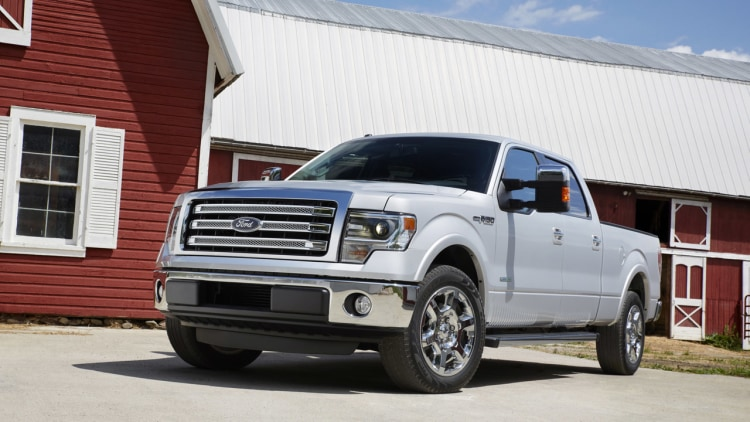 2013 ford f 150 debuts with slight enhancements