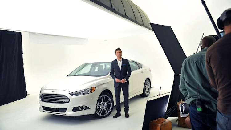 2013 Ford Fusion and Ryan Seacrest
